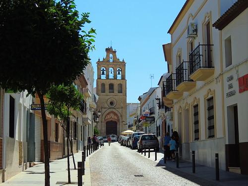 <Calle Iglesia> Lepe (Huelva)