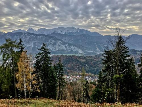 Autumn on Nußlberg mountain near Kiefersfelden, Bavaria, Germany