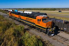 BNSF 124 - Midlothian TX