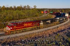 NS 8104 | GE ES44AC | NS Memphis District West End