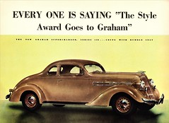 1936 Graham Supercharger Series 110 Coupe With Rumble Seat