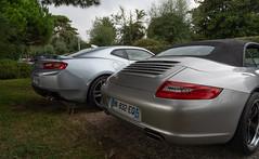 Porsche and Chevrolet