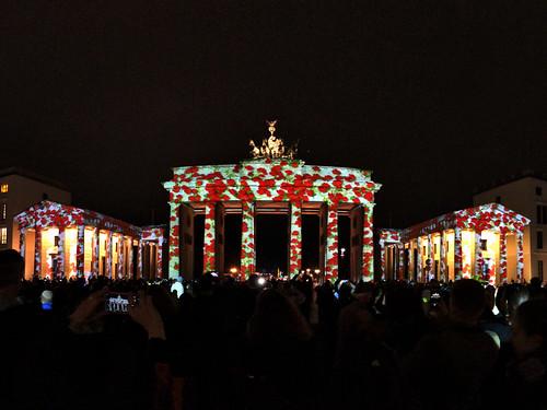 Festival of Lights 20:19 - The Brandenburger Gate (Panoramic)