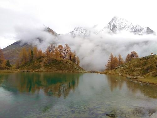 Lac Bleu d'Arolla, Swiss Alps