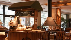 """""""Birch Terrace bakery & cafe"""" on the 1st floor of HOTEL-MILLIONE."""