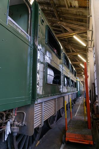 Looking slightly like a locomotive