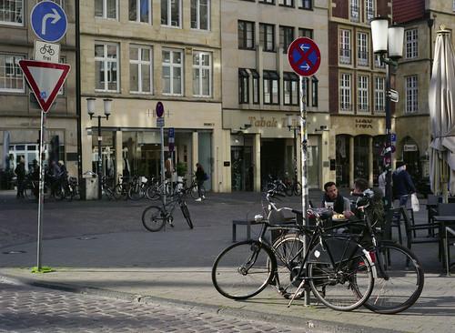 Dutch bikes in Germany