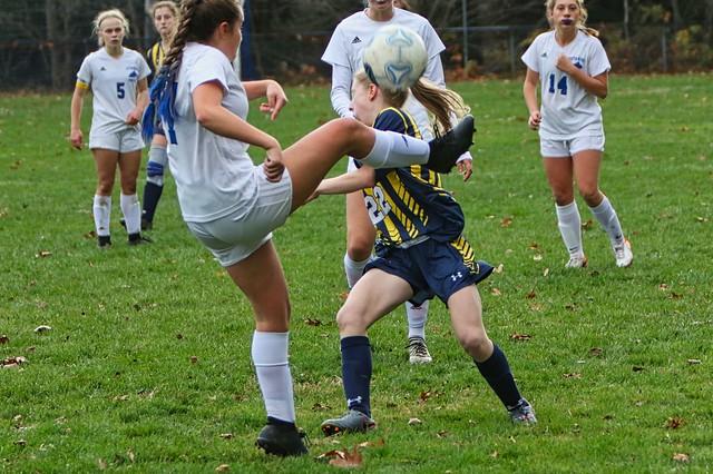 Bow v Oyster River HS Girls Varsity Soccer Playoff Game