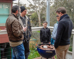 Males Gravitate to Cooking Sausages
