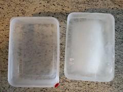 Block ice mold