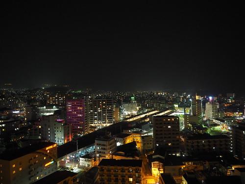 Night view of Beppu/別府の夜景