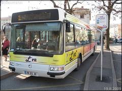 Irisbus Agora S – Vienne Mobilités (Transdev) / L'va (Lignes de Vienne et Agglomération) n°67