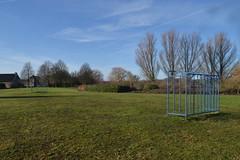 Voetbalveld in Dante, Ommen (136FJAKA_2962)
