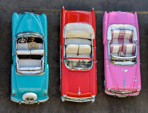 Cuba's Colorful Classic Cars