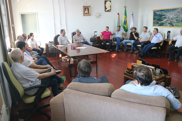 01/11/2019 Visita Prefeitura Getúlio Vargas