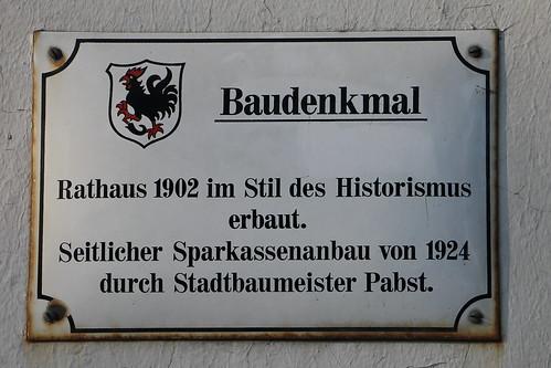 Haan, Rathaus, Info