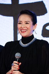 Zhang Ziyi the Jury President at Opening Ceremony of the Tokyo International Film Festival 2019