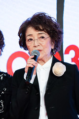 "Baisho Chieko from ""Tora-san, Wish You Were Here"" at Opening Ceremony of the Tokyo International Film Festival 2019"