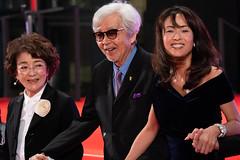 """Baisho Chieko, Yamada Yoji & Goto Kumiko from """"Tora-san, Wish You Were Here"""" at Opening Ceremony of the Tokyo International Film Festival 2019"""