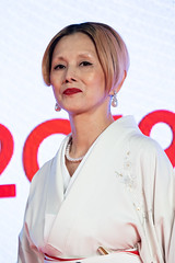 "Natsuki Mari from ""Tora-san, Wish You Were Here"" at Opening Ceremony of the Tokyo International Film Festival 2019"