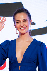 "Alicia Vikander from ""Earthquake Bird"" at Opening Ceremony of the Tokyo International Film Festival 2019"