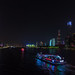 珠江夜遊 Cruise on Pearl River (Zhujiang River).