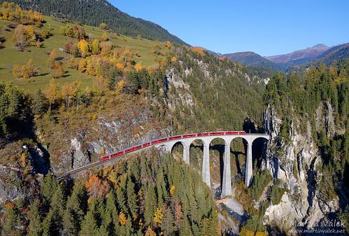 ABe 8/12 RhB, IR 1149, Landwasser Viaduct, Alvaneu - Filisur (Switzerland)