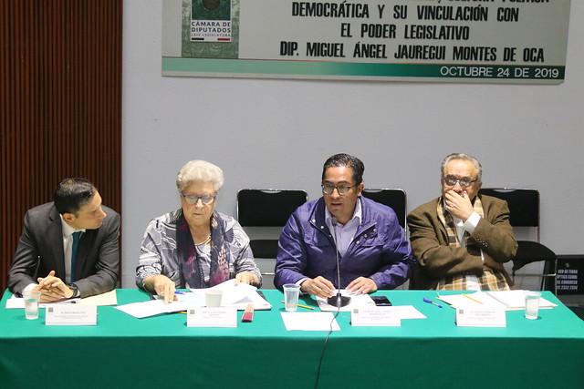 24/10/2019 Foro Dip. Miguel Ángel Jauregui Montes de Oca