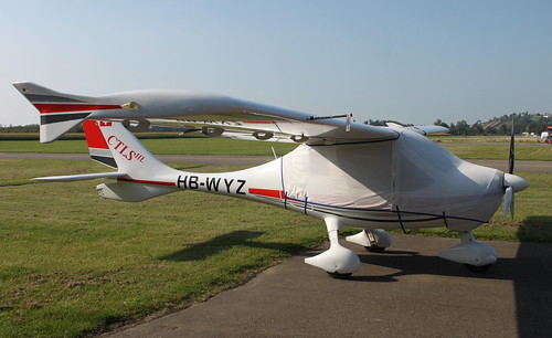 Flight Design CT HB-WYZ Colombiers 06/09/14