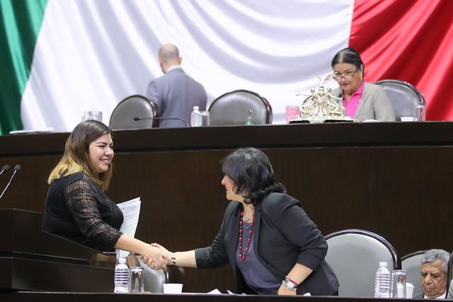 24/10/2019 Tribuna Dip. Luz Estefanía Rosas Martínez