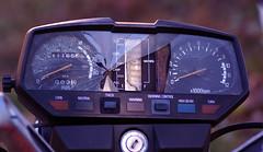 Busted Dashboard: Yamaha Maxim 750