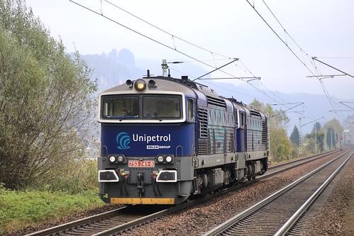 Unipetrol 753 741-8 753 715-2 als Doppel-Lz.