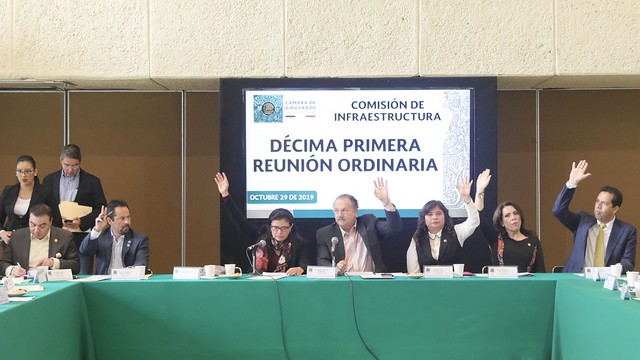 29/10/2019 Comisión de Infraestructura