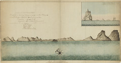 Profile map of Lord Howe Island attributed to H. L. Ball Surveyor and Commander of the Supply, 1788