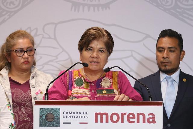 29/10/2019 Conferencia de Prensa Dip. María Eugenia Hernández Pérez