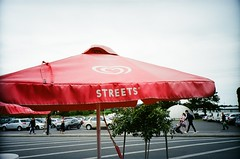 Streets ice cream table umbrella