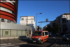 Renault Trafic – MD Services / Setram (Société d'Économie Mixte des TRansports en commun de l'Agglomération Mancelle)