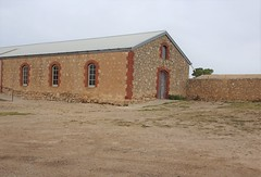 Minlaton Yorke Peninsula. The first agricultural show was held in 1878. This exhibition hall was built around 1880.