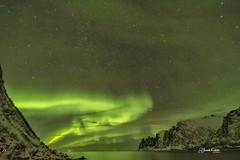 Aurora Borealis en Los Dientes del Diablo Tungeneset Rutas Escénicas en la Isla de Senja Noruega. Pincha el enlace para ver todas las fotos http://elcoleccionistadeinstantes.es/auroras-boreales-en-las-rutas-escenicas-isla-de-senja-noruega Viaje En Busca d