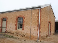 Minlaton Yorke Peninsula. The first agricultural show was held in 1878. One of several exhibition halls  built around 1880.