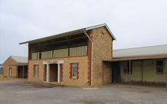 Minlaton on Yorke Peninsula. Show ground agricultural exhibition halls built between 1880 and 1928.