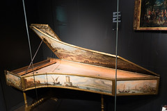 Hand-painted harpsichord