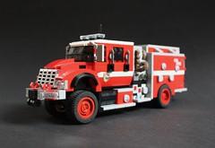 HME Type 3 4x4 Wildland Fire Engine