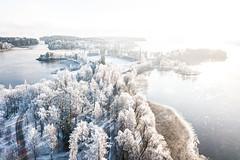 Kuopio ilmakuva marraskuu 2019