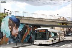Heuliez Bus GX 427 BHNS – Tisséo n°1365 - Photo of Auzielle