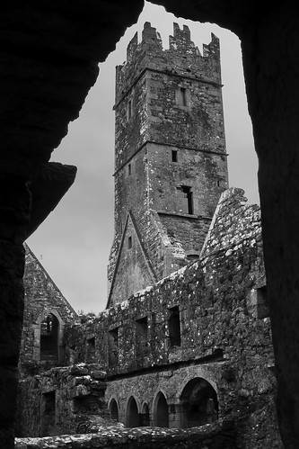 Ross Errilly Friary, Galway, Ireland