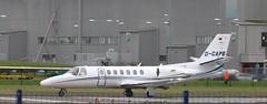 D-CAPB - Cessna 560 Citation Encore+ at CHester