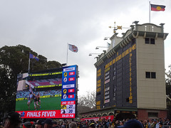 The Old and New of Scoreboards