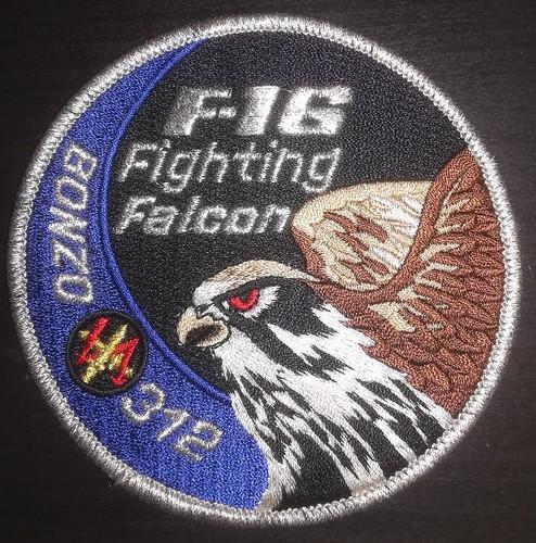 312 Sqn badge Volkel AB.