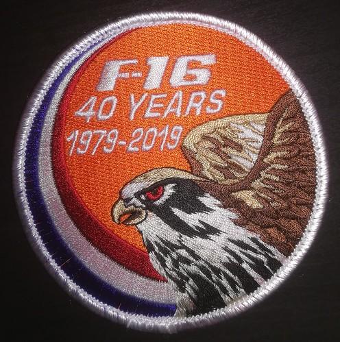 40 years F-16 badge.